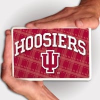 Indiana University - Kindle Fire Case - IU Hoosiers Design - White Protective Hard Case