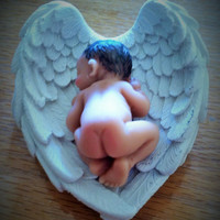 Naked Baby Birth Gift Keepsake for Birth, Infant Loss, Sympathy Gift, Baby Shower, Grandparents Gift