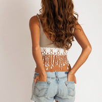 Crochet Tassel Top