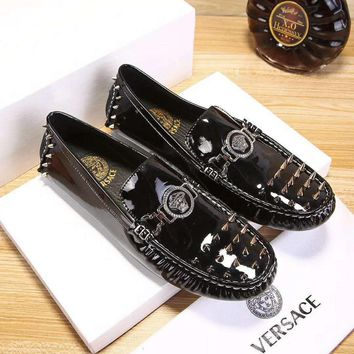 Versace Fashion Casual Flats Shoes-24