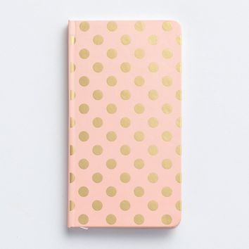 Gold Polka Dots 2018 Premium Pocket Planner