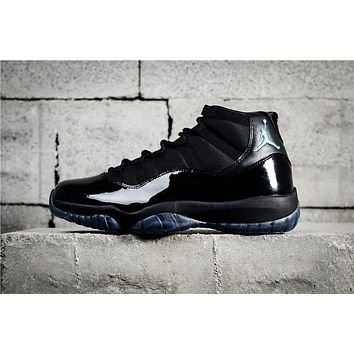 Air Jordan 11 Retro Black Gamma Blue 378037-006