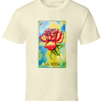 "Men's 100% Cotton ""La Rosa"" Tee"