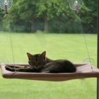 Mount Cat Bed Hammock with Suction Cups