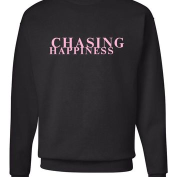 "Jonas Brothers ""Chasing Happiness"" Crew Neck Sweatshirt"