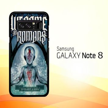 We Came As Romans cover Z1387 Samsung Galaxy Note 8 Case