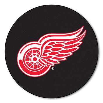 Detroit Red Wings NHL Puck Mat (29 diameter)