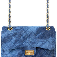 DENIM GALAXY CROSSBODY BAG