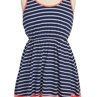 W Girl Colorblock Stripe Dress (Little Girls & Big Girls)