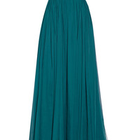 Marchesa - Off-the-shoulder silk-chiffon gown