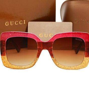 Gucci sunglass AA Classic Aviator Sunglasses, Polarized, 100% UV protection 2974244967