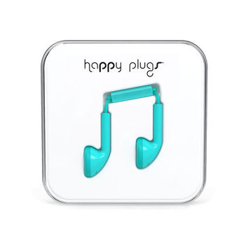 Happy Plugs Earbuds Turquoise One Size For Men 24790224101