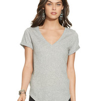 Polo Ralph Lauren Draped V-Neck Tee