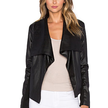 Jack by BB Dakota Rizzo Jacket in Black