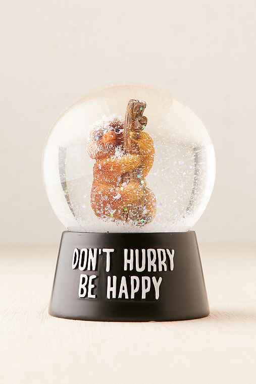Sloth Snowglobe From Urban Outfitters Quick Saves