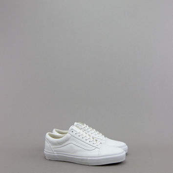 VANS VAULT OLD SKOOL LX VLT WHITE LEATHER (RESTOCK) – BLENDS