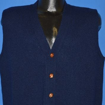80s Jantzen Button Front Cardigan Vest Sweater Extra Large