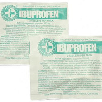 Ibuprofen Packs with 2 Tablets (100 packs)