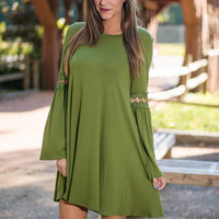 The Sienna Dress, Green