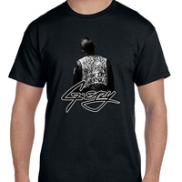 G Eazy When Its Dark Out Cover With Logo Mens T Shirt