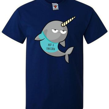 Not A Unicorn Narwhal T-Shirt