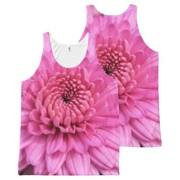 Mums All-Over Print Tank Top