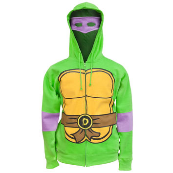 Teenage Mutant Ninja Turtles - Donatello Costume Zip Hoodie