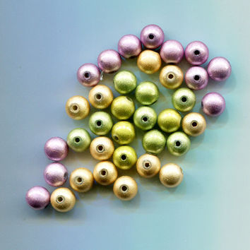 miracle beads pearl beads plastic beads 9mm acrylic beading supplies 36 pc #supply1016