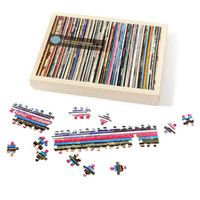 Vinyl Collection Jigsaw Puzzle - Puzzle Haven