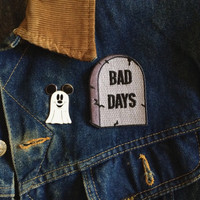 RIP Bad Days : Embroidered Patch