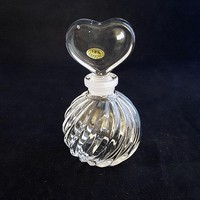 Teleflora Swirly Perfume Bottle with Heart Shaped Stopper