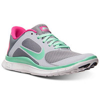 Nike Women's Free 4.0 V3 Reflective Sneakers from Finish Line