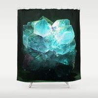 My Magic Crystal Story Shower Curtain by Azima