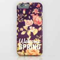 WELCOME SPRING - for iphone iPhone & iPod Case by Simone Morana Cyla