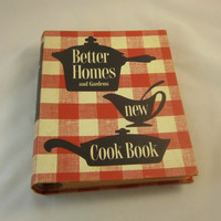 Better Homes Gardens New Cookbook 1953 First Edition 6th Printing