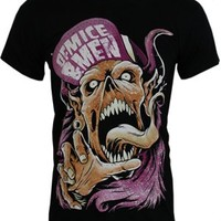Of Mice & Men Flip Hat Demon Men's Black T-Shirt - Offical Band Merch - Buy Online at Grindstore.com