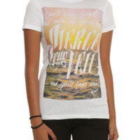 Pierce The Veil Forget The Color Lyric Girls T-Shirt
