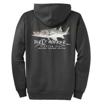 Name tha' Fish 1 Snook Hoodie - Dirty Hooker Fishing Gear