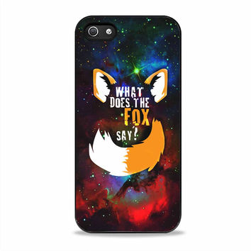what does the fox say movies quotes Iphone 5S Cases