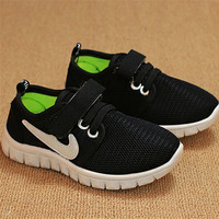 2015 New children shoe first walker for boys girls internationally famous brand sneaker breathable baby trainer kid tenis