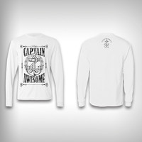 Captain Awesome - Performance Shirts - Fishing Shirt