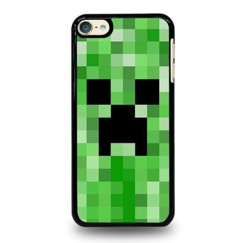 CREEPER MINECRAFT 2 iPod Touch 6 Case Cover