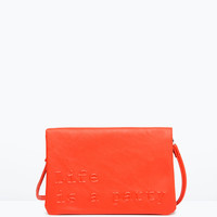 Detachable cross-body bag