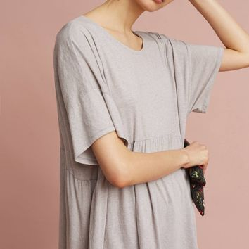Oversized Peplum Tunic