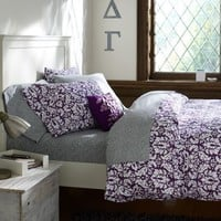 Damask Duvet Cover & Pillowcases