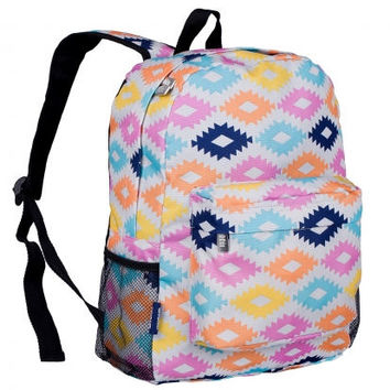 Monogram Backpack and Lunch Bag Set - Wildkin - Personalized - Aztec - Back to School Crackerjack