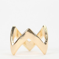 Urban Outfitters - Zigzag Stackable Midi Ring