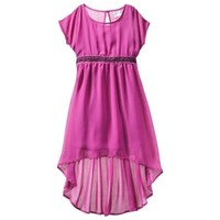 D-Signed Girls' Dress - Mulberry