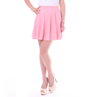Cotton Candy Pink Skater Skirt