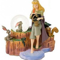 Fantasies Come True - Disney collectibles and memorabilia - Briar Rose Sleeping Beauty Snowglobe - Sleeping Beauty / Princess Aurora / Briar Rose